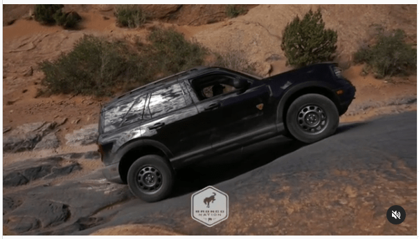 Ford Bronco Sport dites di Moab, Utah, AS.