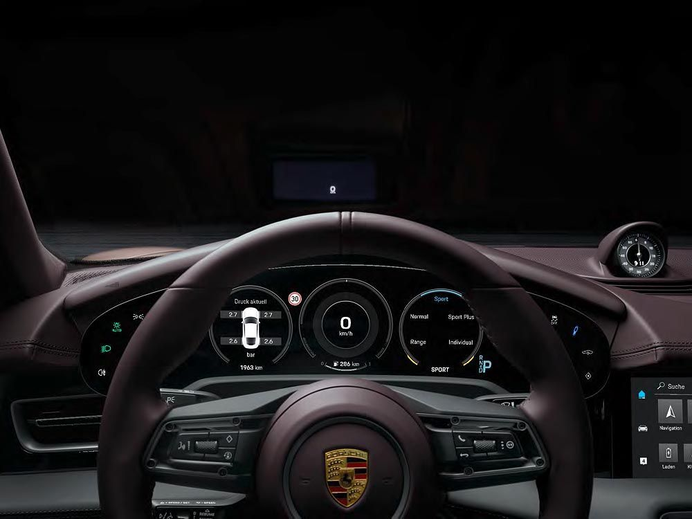 Porsche All Electric Sports Saloon